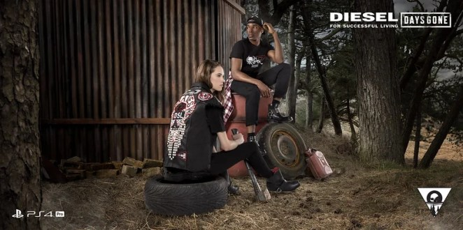 Days Gone clothing collection by Diesel