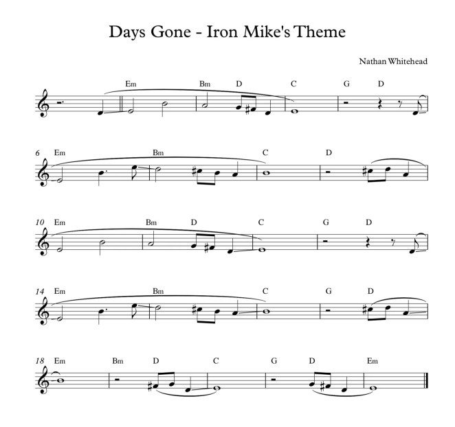 Days Gone - Iron Mike's Theme