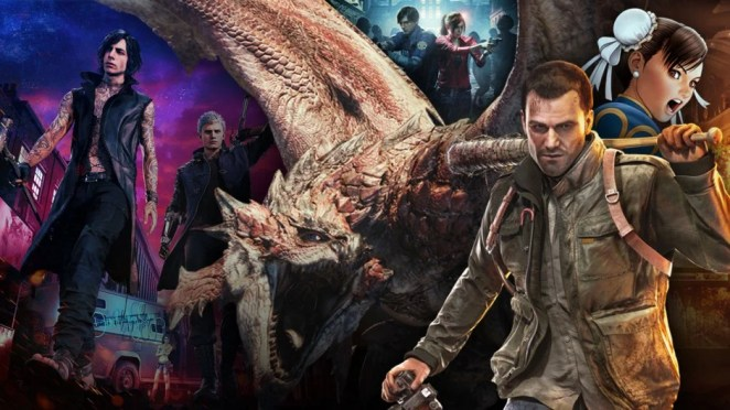 Capcom Publisher Hero Image