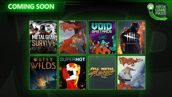 Xbox Game Pass May Wave 2 Hero Image