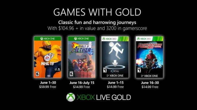Games with Gold June 2019 Hero Image