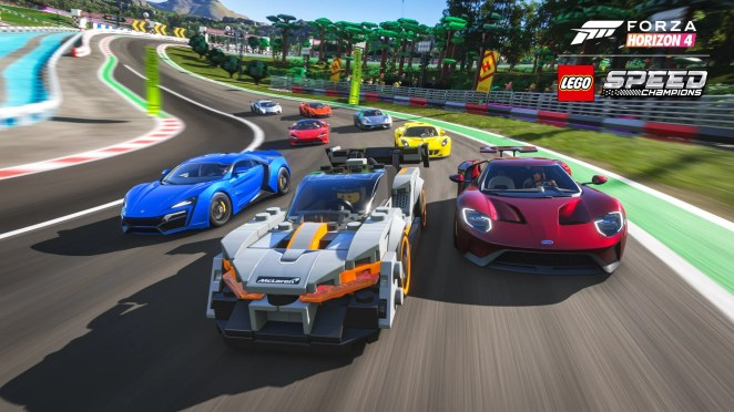Forza Horizon 4 LEGO Speed Champions Senna Group Race Screenshot