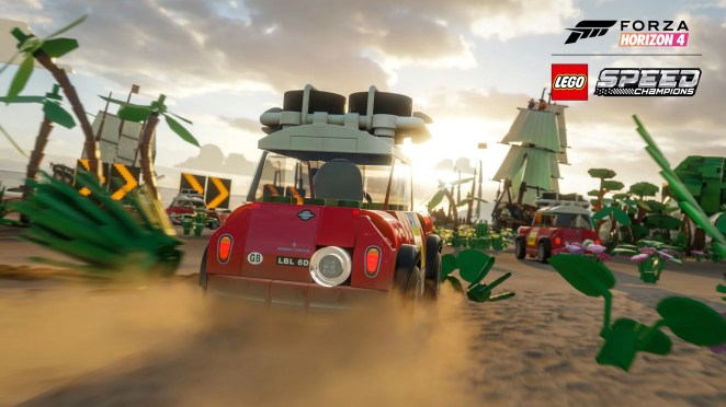 Forza Horizon 4 LEGO Speed Champions Mini Pirate Beach Screenshot