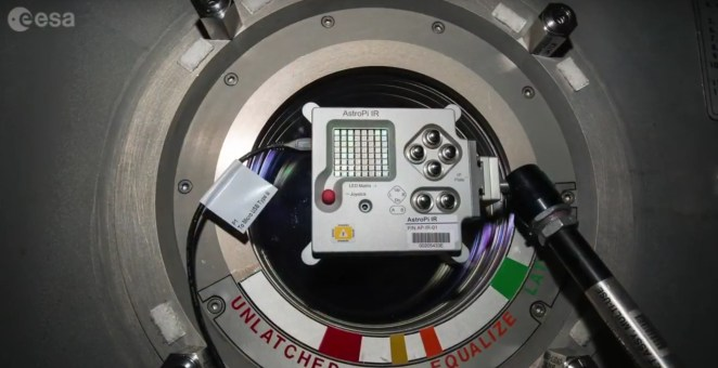 Astro PI IR on ISS