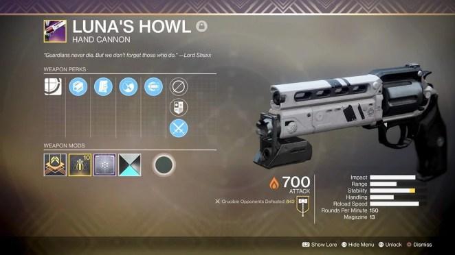Destiny 2: Forsaken - Luna's Howl
