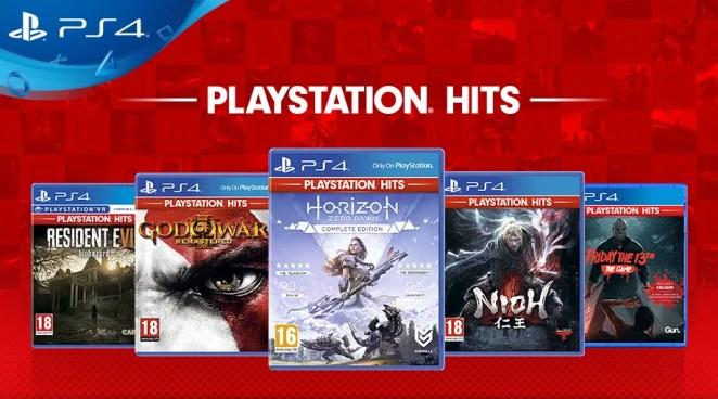 PlayStation Hits on PS4
