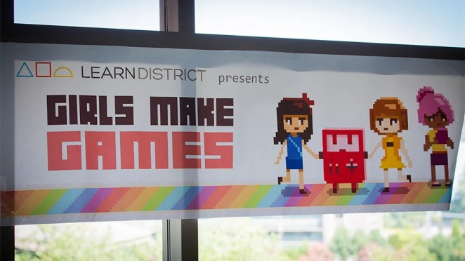 Girls Make Games Summer Camp