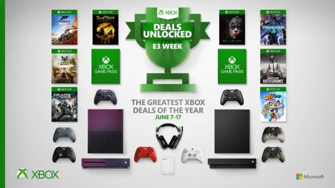 E3 2019 Xbox Deals Hero Image