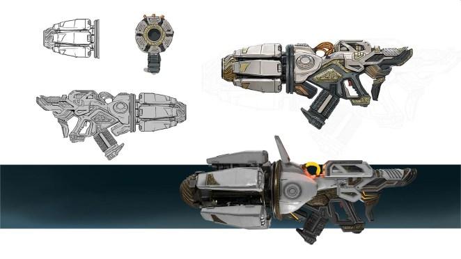 Telefrag VR - Rocket Launcher concept