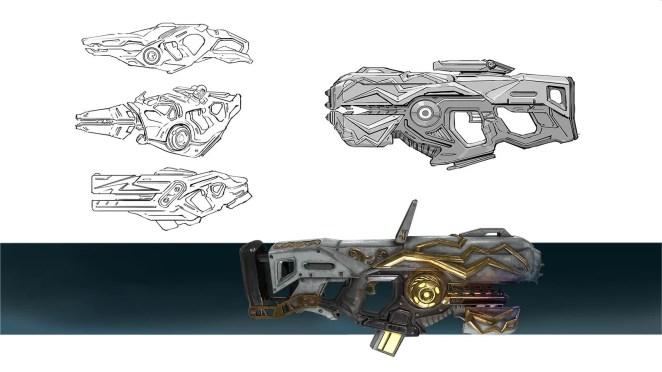 Telefrag VR - Particle Cannon concept
