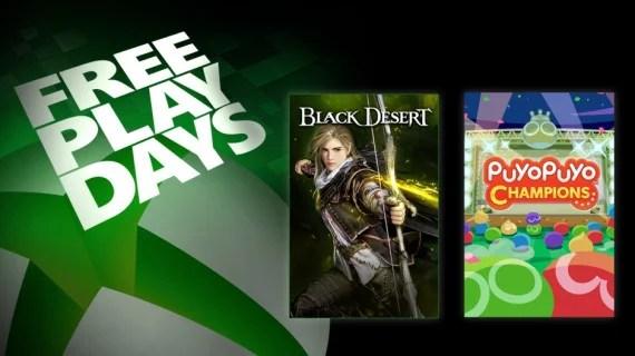 Free Play Days: Black Desert & Puyo Puyo
