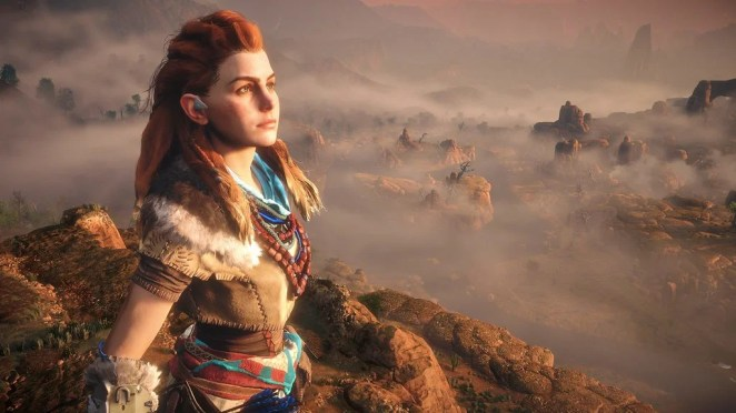 Horizon Zero Dawn on PS4