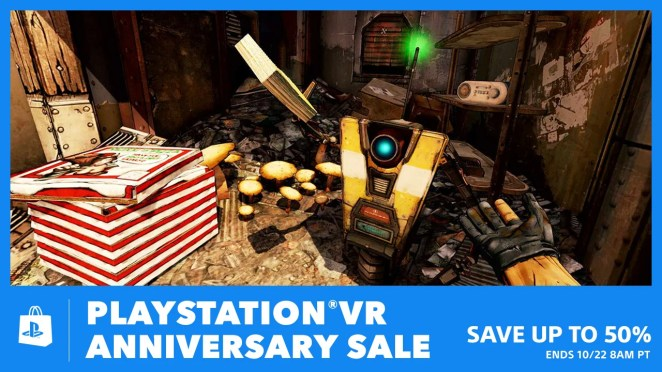 PS VR Anniversary Sale