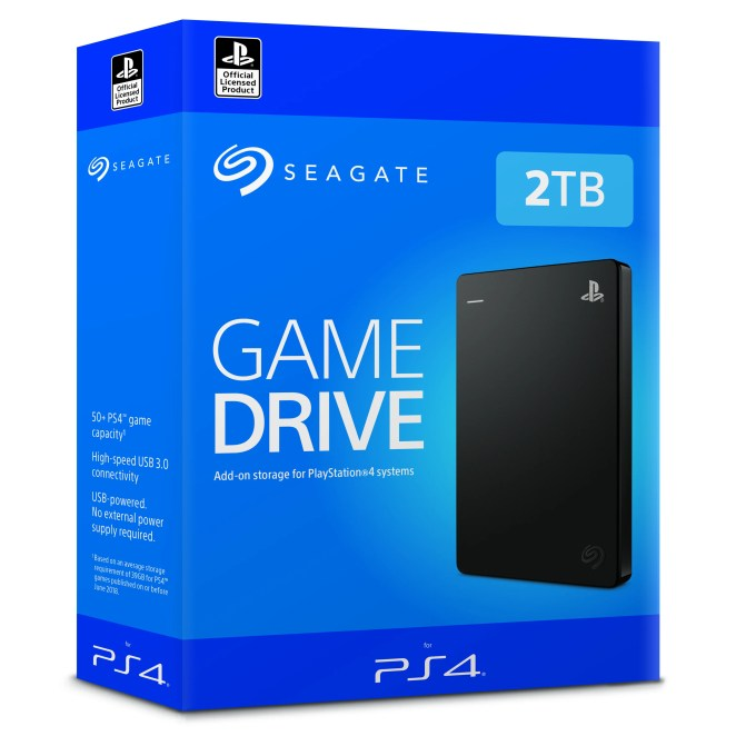 Seagate on PS4