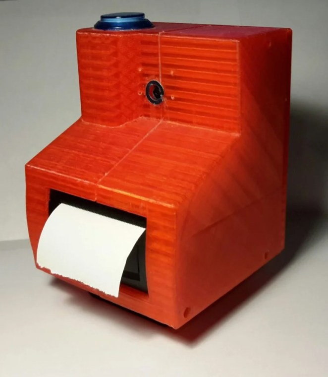 PolarPiBerry Raspberry Pi-controlled instant print camera designed by Alex Mous