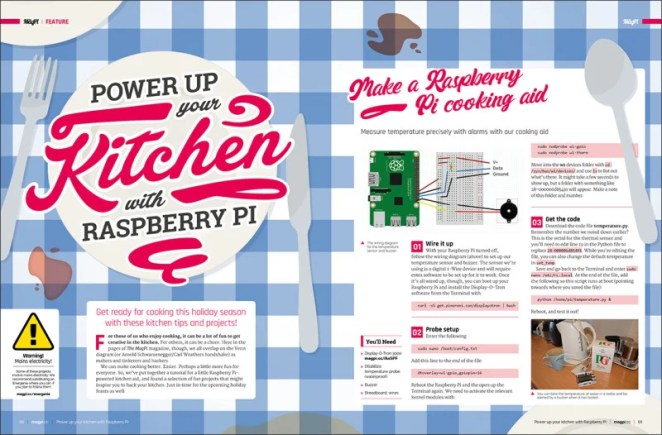 Power up your kitchen with Raspberry Pi