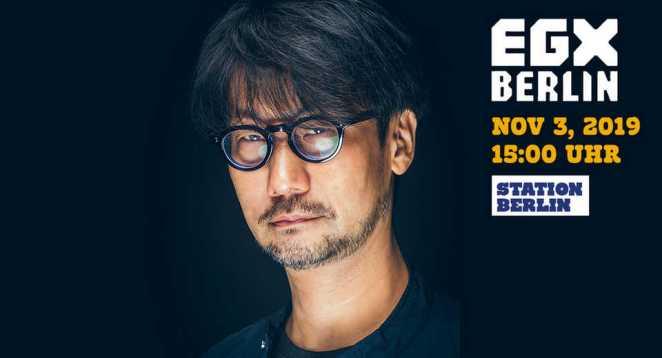 Hideo Kojima und Fatih Akin auf der EGX Berlin (+ Foto-Session)