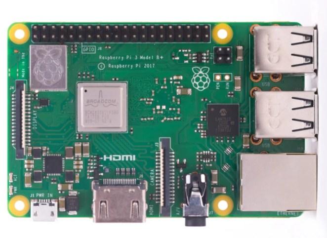 Raspberry Pi 3B+ computer