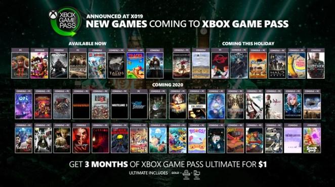 Xbox Game Pass Montage