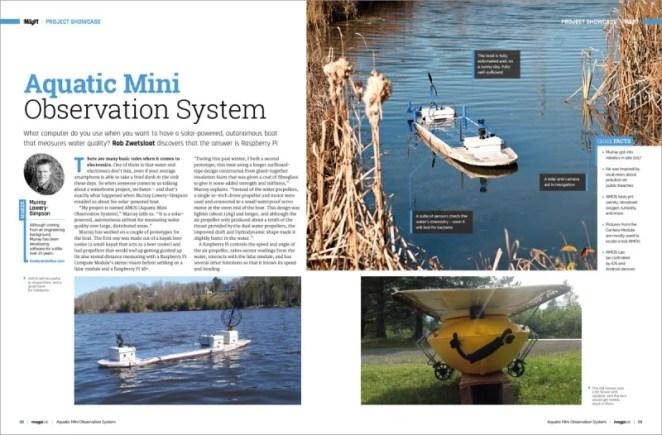 Aquatic Mini Observation System