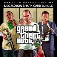 "GTAV Premium Online Edition and CashCard ""Megalodon"
