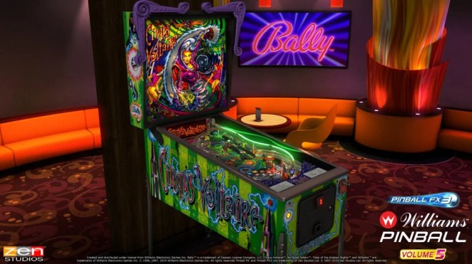 Williams Pinball Volume 5