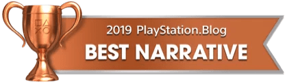 PS Blog Game of the Year 2019 - Best Narrative - 4 - Bronze
