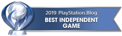 PS Blog Game of the Year 2019 - Best Independent Game - 1 - Platinum