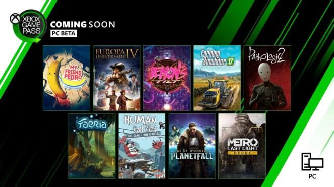 Xbox Game Pass - PC - December 2019