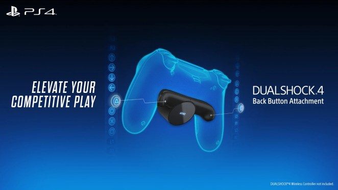 DUALSHOCK® 4 Back Button Attachment on PS4