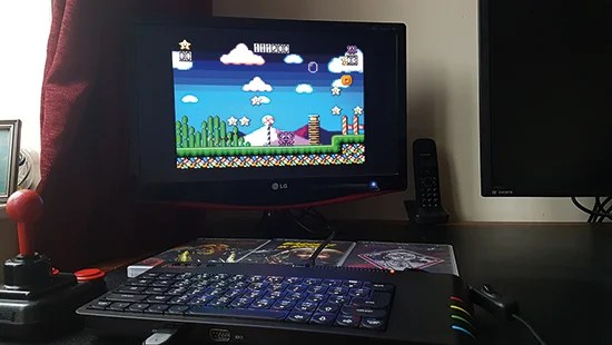 It will work with CRT and VGA monitors, as well as more modern screens, thanks to the support of a HDMI output