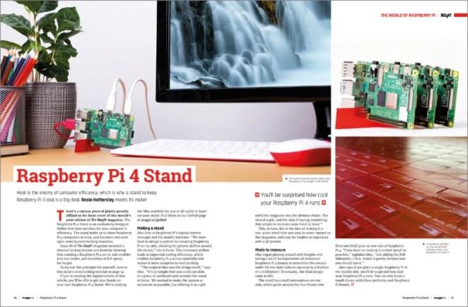 Raspberry Pi 4 Stand