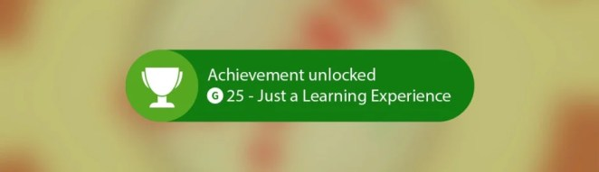 Just a learning experience