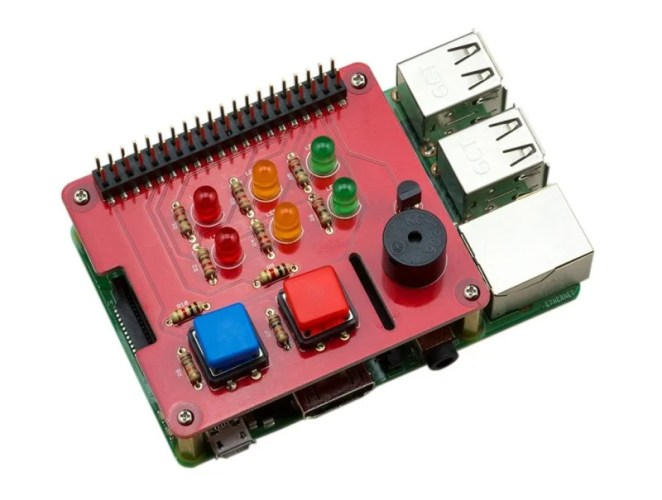 Jam HAT is a simple board that adds LEDs, buttons and a buzzer to give pizzazz to your coding projects