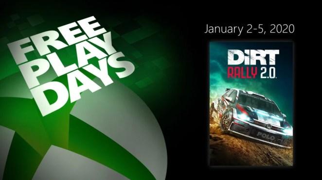 XBL Free Play Days DiRT 2.0