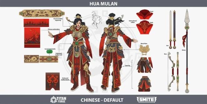 Smite - Mulan