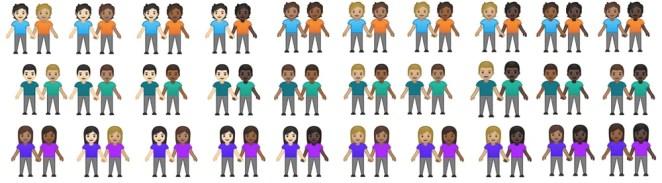 New Inclusive Emoji 12.1 Update