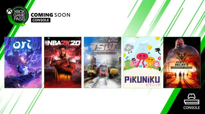Xbox Game Pass - Coming Soon - March 2020