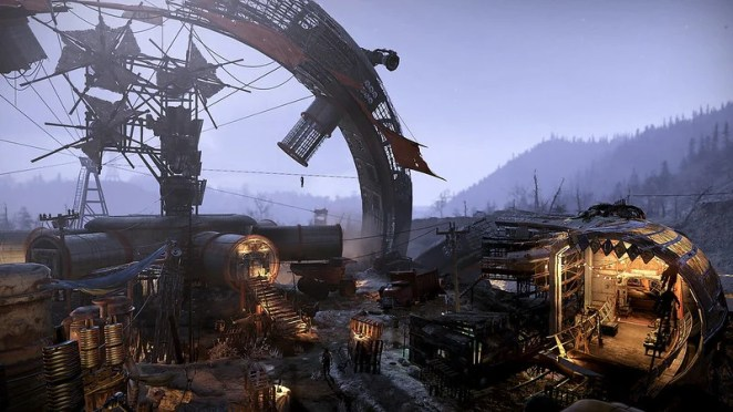 Fallout 76's Wastelanders expansion on PS4