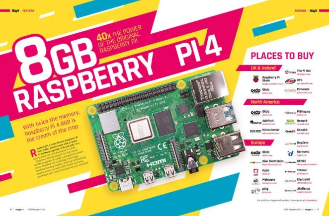 8GB Raspberry Pi 4