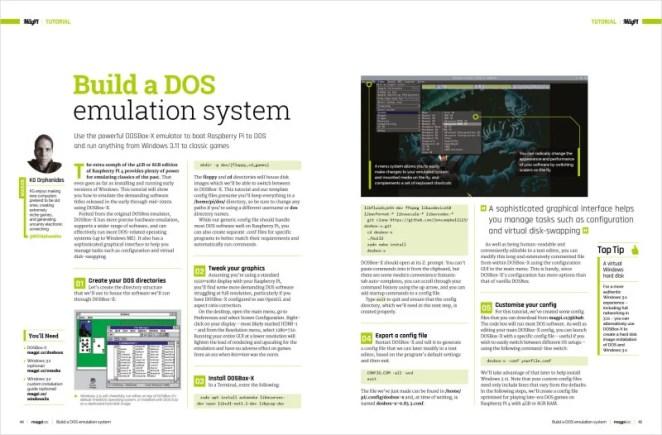 Build a DOS emulation system