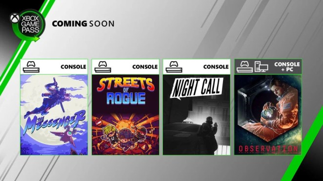 Xbox Game Pass - Coming Soon - June 2020