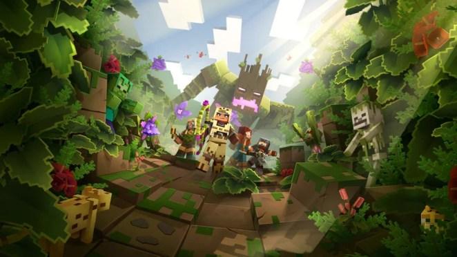 Minecraft Dungeons: Jungle Update