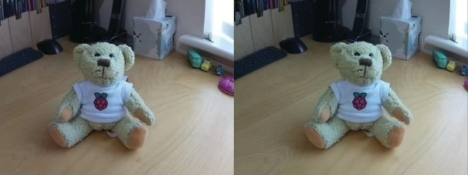 Here's an example of what can be produced. This is a cross-view image, so, if you can, cross your eyes together until they settle on a central image. Don't strain if your eyes feel tired!