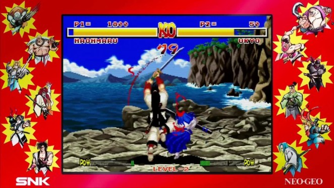 Samurai Shodown NeoGeo Collection – July 28