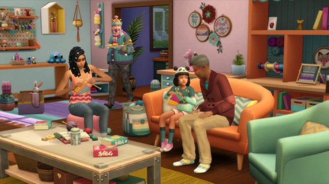 The Sims 4: Nifty Knitting – July 29