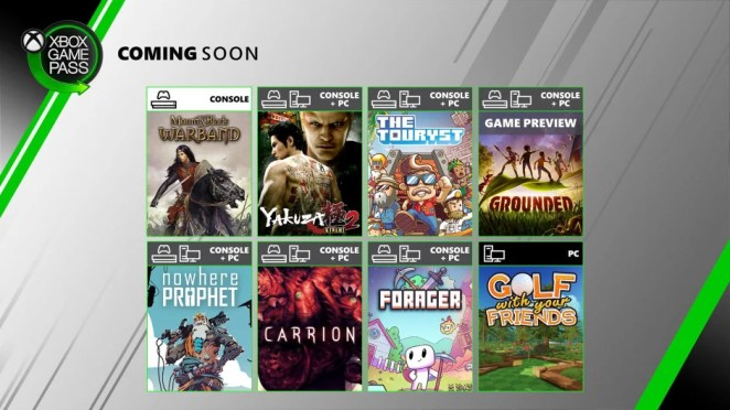 Xbox Game Pass - July Update