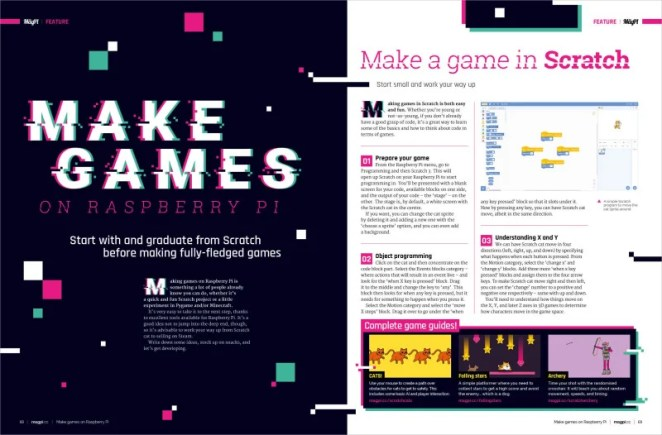 Make games with Raspberry Pi