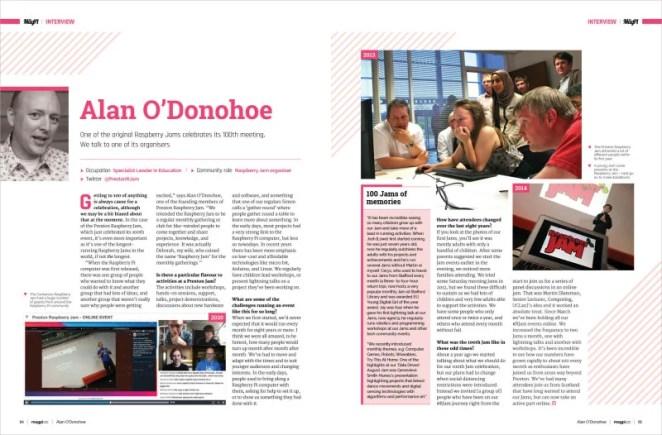 Alan O'Donohoe interview