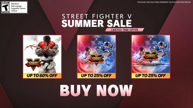 Street Fighter V - Summer Update